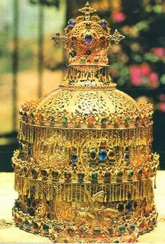 Emperor's Crown from the former Empire of Ethiopia.