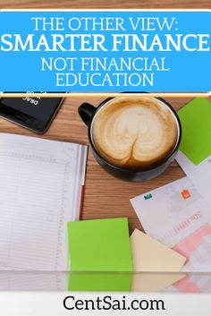 A Fin-tech entrepreneur is of the view that people need smarter financial tools to manage their money better, and financial education alone does not do it. The author is also putting his money where his mouth is.