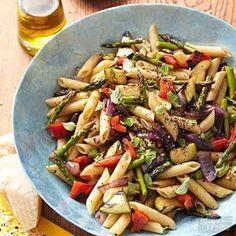 Grilled Veggie Pasta Salad                                                                                                                                                      More