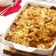 Contest-Winning Caramel Apple Crisp Recipe from Taste of Home