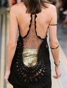 diy inspiration--arm bands w/ chain Much less excited about the gold underpants