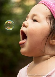 Gabrielle Chases Bubble by MarkDeibertPhotography, via Flickr