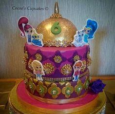 Shimmer and Shine Birthday Cake
