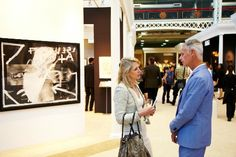 There's contemporary art. There's Renaissance art. There's art and antiques from all over the world. It must be June and it must be the International Arts and Antiques Fair at at Olympia, London