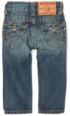 True Religion Baby-boys Infant Jack Slim Fit Jean