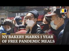 Bakery in New York's Chinatown celebrates 70,000 free meals during year of pandemic support - YouTube New York S, Free Food, Bakery, Meals, Celebrities, Youtube, Celebs, Meal, Yemek