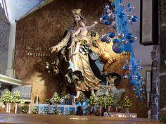Virgen de la inmaculada concepcion , Chignaguapan Puebla ,Mexico.