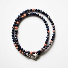 Hey, I found this really awesome Etsy listing at https://www.etsy.com/listing/153173871/mens-bracelet-sodalite-wrap-bracelet