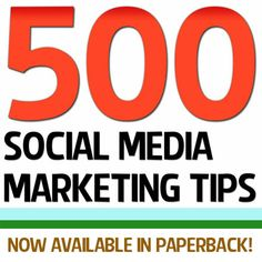500 Social Media Marketing Tips is now available to buy in paperback? Over 200 people have ordered theirs so far! Join them by grabbing your copy on Amazon for just $9.97! Click here: http://www.amazon.com/500-Social-Media-Marketing-Tips/dp/1482014092/ref=tmm_pap_title_0
