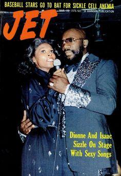Jet magazine (March 18, 1976) — Dionne Warwick & Isaac Hayes