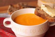 Velouté de courge butternut (potage) · Aux délices du palais