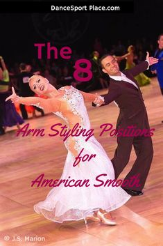 http://dancesportplace.com | online dancesport studio for competitors | Eulia Baranovsky, arm styling positions for American Smooth