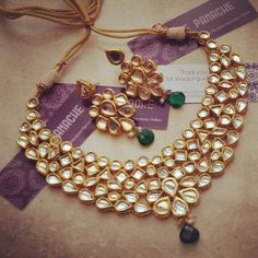 Bridal Kundan Set MZE P19426081360 - buy Jewellery online from Ze Panache at CraftsVilla.com