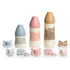 Biberones Little Zoo #Suavinex  http://shop.suavinex.com/producto/regalos-para-bebes-y-mamas/sets1/set-little-zoo-rosa.html