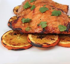 From Calculu∫ to Cupcake∫ | Grilled Orange Ginger Salmon | http://www.fromcalculustocupcakes.com