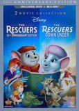 Rescuers: 35th Anniversary Edition/The Rescuers Down Under [3 Discs] [DVD/Blu-ray] [Blu-ray/DVD]