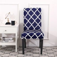 Forcheer Chair Covers Modern Kitchen Seat Case Wedding Chair Covers Spandex Elastic Floral Print For Dining Room Seat Covers For Chairs, Dining Chair Covers, Dining Chair Slipcovers, Dining Room Chairs, Patterned Dining Chairs, Patterned Chair, Barndominium, Stylish Chairs, High Back Chairs