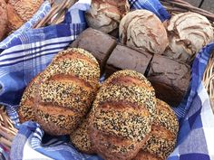 """The last few weeks have been a blur of baking, as I have started selling at a new market which has a BIG appetite for bread. The Waltham market has been around for 24 years and has a very large and loyal set of customers. This Saturday was our third week. I say """"our"""" as my daughter has gotten the market bug and has come to sell with me every week in Cambridge and now Waltham. Here she's selling three deep and probably cursing me for standing behind taking pictures instead of he..."""