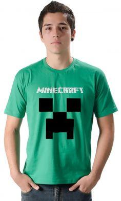 camiseta - minecraft - Loja de Camisetas|Camisetas Era Digital #minecraft