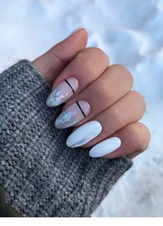 Extend fashion to your nails with the help of nail art designs. Worn by fashionable celebrities, these kinds of nail designs will add instantaneous elegance to your apparel. Cute Acrylic Nails, Cute Nail Art, Cute Nails, Pretty Nails, Pastel Nails, Diy Ongles, Hair And Nails, My Nails, Crazy Nails