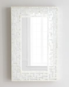 ***Sale ends 2/10!*** $221.17 instead of $292.90 w/add'l discount (reg price $550!)  Capiz Fretwork Mirror at Horchow.