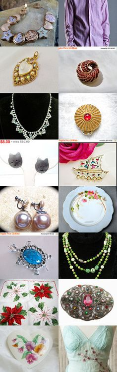 Teamlove Flash Pro II Treasury Bevy of Holiday Bargains  by Nancy on Etsy--Pinned with TreasuryPin.com