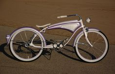 Lavender Kandy twist bike