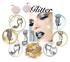 """All that Glitters"" by puddycatshoes ❤ liked on Polyvore featuring Anne Michelle"