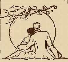 Risultati immagini per вышивки «Пара силуэты»