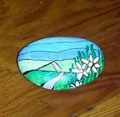 painted rock by B-Brilliant Decorative painting