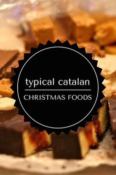 Christmas in Barcelona, like in many places, means eating! Check out our list of the best typical catalan Christmas food to try! Gourmet Desserts, Gourmet Recipes, Delicious Desserts, Dessert Recipes, Yummy Food, Spanish Christmas Food, Christmas Desserts, Christmas Recipes, Spanish Desserts