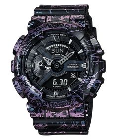 G-Shock purple black GA-110PM-1A-1