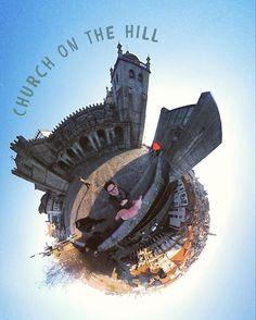 Church on the Hill in Porto.🏰⠀ 🌎⠀ 🌎⠀ #360selfie #insta360 #insta360nano #littleplanet #instatravel #360photography #360panorama #travelgram #church #porto #portugal #castleonthehill #mein360 #lifein360 #36life #360degrees #traveller #travelphotography