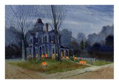 Lewis Barrett Lehrman - The Pumpkin Sellers' Halloween