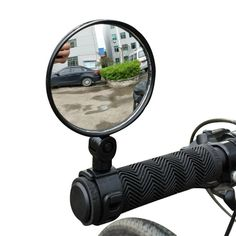 Durable Safty Shockproof Mirror for Motorcycle MTB Excursion Sports 1pc Bike Handlebar Flexible Rear View Mirror Wide Angle View Adjustable Bicycle Back Mirror Road Dirt,Electric Bike