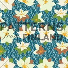 Lumme by Kahandi Design   #patternsfromfinland #kahandidesign #pattern #surfacedesign #finnishdesign