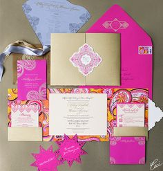 Ashley & Brian - Wedding Invitations - Daring - Ceci Couture - Ceci Wedding - Ceci New York
