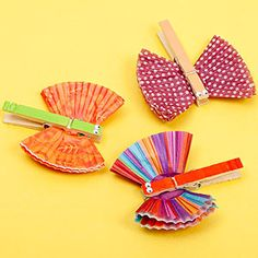 Simple Craft Projects for Kids: Clothespin Butterflies (via FamilyFun Magazine)