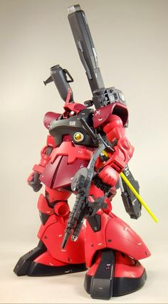 "Custom Build: MG 1/100 Char's Rick Dom ""Detailed"" - Gundam Kits Collection News and Reviews"