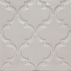 Beveled Arabesque BackSplash Tile, Vento Grey, Samples   Mediterranean    Floor Tiles   By Mission Stone Tile