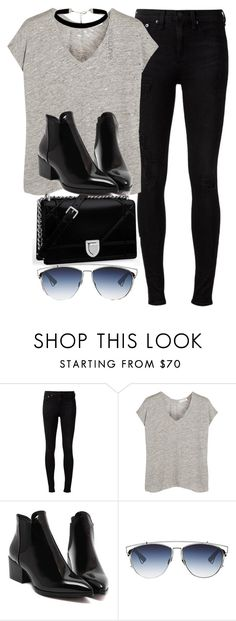 """""""Style #10694"""" by vany-alvarado ❤ liked on Polyvore featuring rag & bone, Christian Dior and ASOS Curve"""