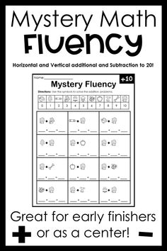 Great for centers, after work, or fun homework activity! Subtraction Activities, Addition Activities, Winter Activities, Math Activities, Math Fact Fluency, Fluency Practice, Homeschooling Resources, Math Problems, Math Facts