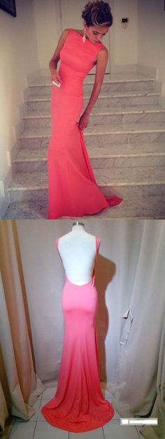Long Prom Dresses, Sexy Prom Dresses, Backless prom dresses, Red prom dress, mermaid prom dress, sexy prom dress, long prom dress, cheap prom dress