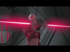 Star Wars Rebels Inquisitor Lightsaber Battle Clip - SDCC 2014