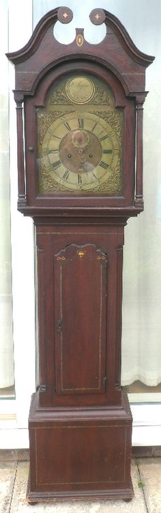 Antique Grandfather Clock | SCOTTISH GRANDFATHER CLOCK B | Grandfather Clocks by John Shone