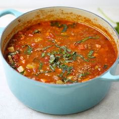 Slow cooker vegetable soup. An excellent vegetarian soup cooked in slow cooker.
