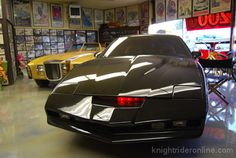 """George Barris Interview Part 1 - news . knight rider online He created Kit from Nightrider and also the Harcastle and Mkcormick car """"The Coyote"""""""