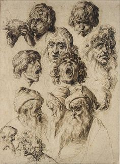 JACQUES DE GHEYN II ANTWERP 1565 - 1629 THE HAGUE