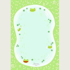 adorable free frog stationary from canon....lots of cute others as well.