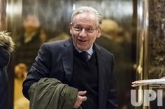 Journalist Bob Woodward is seen in the lobby of Trump Tower in New York, NY, USA on January 3, 2017. Pool Photo by Albin Lohr-Jones / UPI